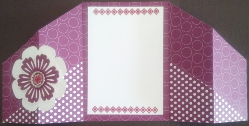 Double Fold Gate Card