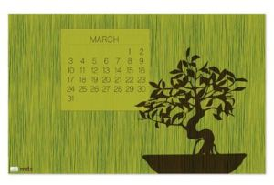 Spring To Life March Wallpaper - Digital Download  133025