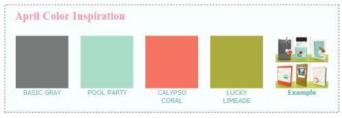 April Color Inspiration