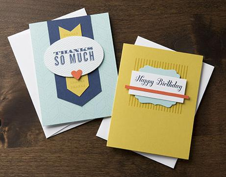Ready. Set. Send. Cards Item 133384 -  $19.95 Package of 10 cards & envelopes