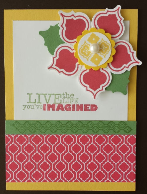 This card was part of a collection designed by Julie Davison.