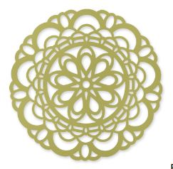 Paper Doily Sizzlits Die Item # 125592 Regular Price: $21.95 Discounted Price: $16.46