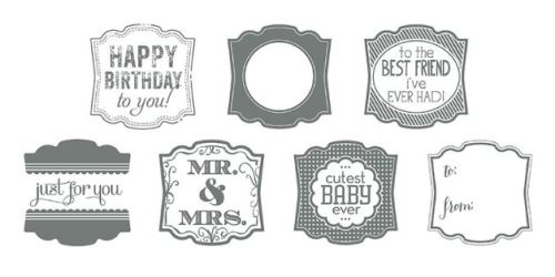 Label Love Stamp Brush SetDigital Download  136716   Price: $4.95