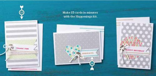 Happenings Cards