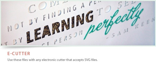 E Cutter Logo